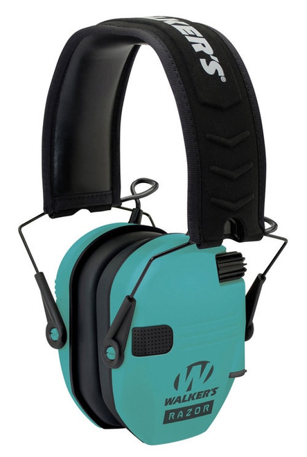 Walkers Razor Slim Electronic Earmuff 23 dB Light Teal