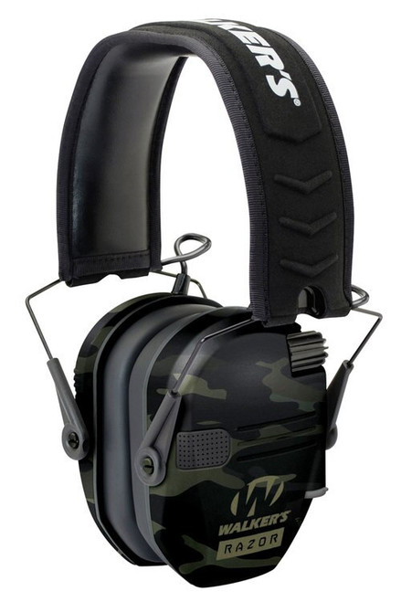 Walkers Razor Slim Electronic Earmuff 23 dB MultiCam Black