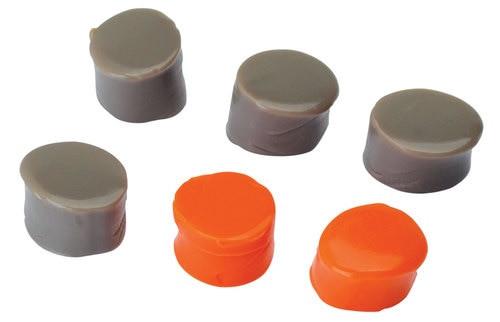 Walkers Silicone Putty Earplugs 32 dB Orange/Flat Dark Earth