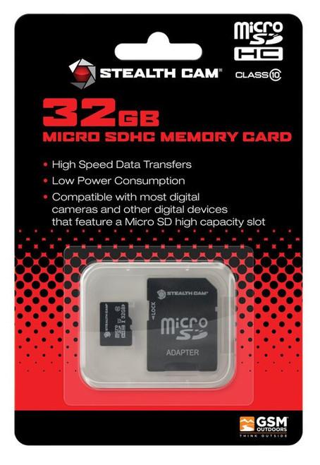 Stealh Cam 32GB Micro SD Card