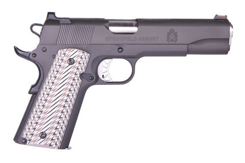 "Springfield 1911 Pistol Series Custom Parkerized Semi-Auto 45 ACP 5"" Barrel"