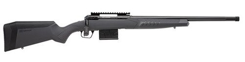 "Savage 110 Tactical, 6.5 PRC, 24"" Threaded Barrel, Black Barrel and Action, Gray Polymer Stock, 8Rd,"
