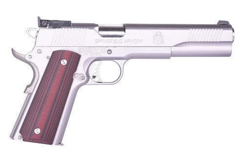 "Springfield 1911 Pistol Series Custom Trophy Match 6"" Barrel Two Tone Semi-Auto 45 ACP"