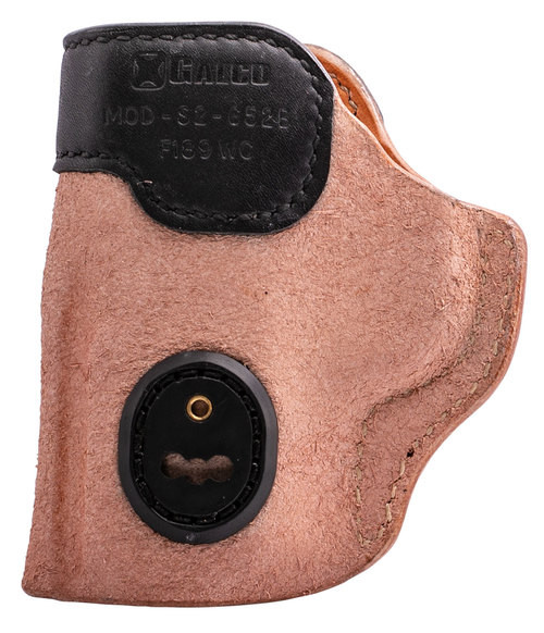 Galco Scout 3.0 S&W M&P Shield 9/40, 2.0 9/40, Steerhide Natural, Black Mouth Band