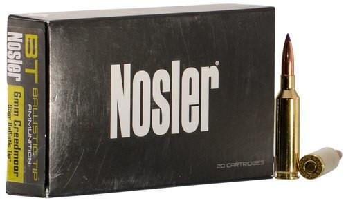 Nosler Ballistic Tip 6mm Creedmoor 95gr, Ballistic Tip, 20rd Box