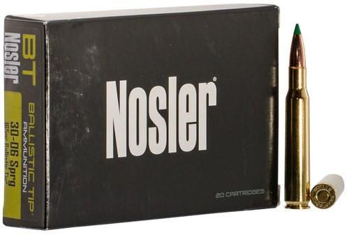 Nosler Ballistic Tip 30-06 Springfield 165gr, Ballistic Tip, 20rd Box