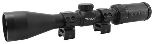 "BSA Optics Optix, Rifle Scope, 3-9X40mm, 1"" Maintube, BDC-8 Reticle, Black Color"