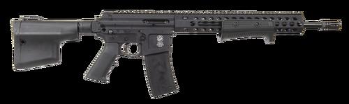 """Troy AR-15 Pump Rifle 223/5.56mm, 16"""" Barrel, Black, 10rd"""