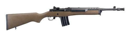 """Ruger Mini-14 Tactical 5.56/.223, 16.1"""" Barrel, Speckled Brown/Black Hardwood Stock, Black, 20rd"""