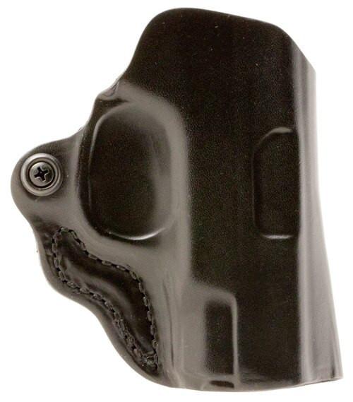 Desantis Mini Scabbard Black Sig P365 Leather Black