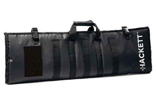 "Hackett Equipment Rifle Burrito, 42"" Case, Includes Shooting Mat, Black"