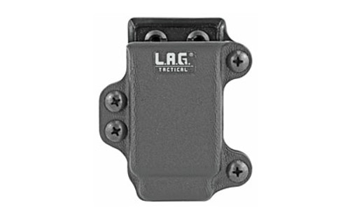 Nikko Sterling LAG Tactical Mag Holster Defender 45 ACP Slim M.C.S. (Single Stack 45 Mags, 1911, XDS 45, Shield 45)