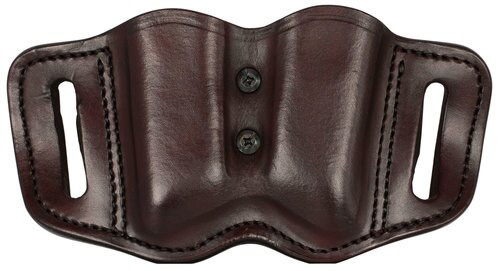 1791 Gunleather Mag-F-2.2-SBR Double Mag Poly Double Stack S, Brown