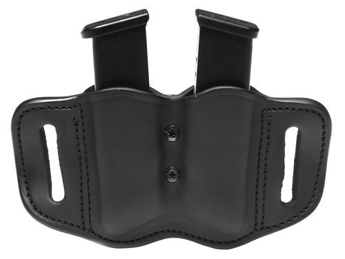 1791 Gunleather Mag-F-2.2-SBL Double Mag Poly Double Stack Black