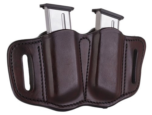 1791 Gunleather Mag-2.1-SBR Double Mag Single Stack S, Brown