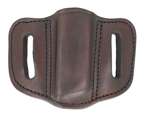 1791 Gunleather Mag-1.2-SBR Single Mag Double Stack S, Brown