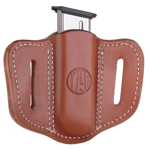 1791 Gunleather Mag-1.1-CBR Single Mag Single Stack C, Brown
