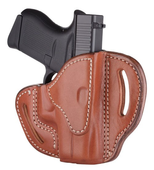 1791 Gunleather BHC Glock 43, Walther PPK Steerhide, Classic Brown