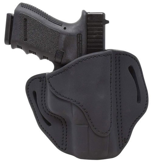 1791 BH2.1 Black, Leather, 1911 Officer with Rail / Glock 17,19,19x,23,25,26,27,28,29, 30, 32, 33, 45, 48 / FN FNS-9 / Ruger SR9, SR40, SR22 / S&W MP9, MP40, MP40c, Shield, 5903 / Sig P225-A1, P228, P229, P229c / Sp, RH