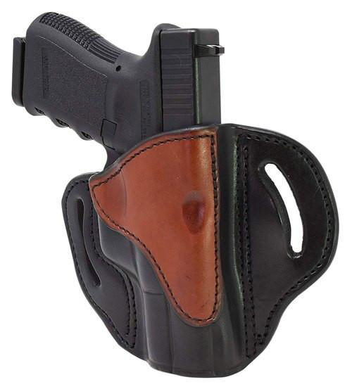 1791 Gunleather BH2.1 Glock 17, S&W Shield, Springfield XD9 Steerhide, Black/Brown