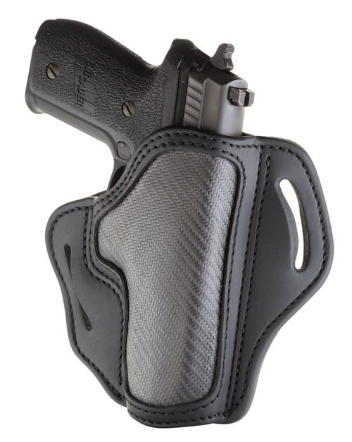 "1791 BH2.3 Carbon Fiber Black, Leather, 1911 4""-5"" Full Rail, Beretta 92FS, CZ 75,P01,P07,P10,H&K VP9-40,P2000,Glock 17,20,21,22,31,34,35,40,41, Rock Island 1911 5"" TCM,TAC Ultra 5"",Ruger P95, etc, RH"