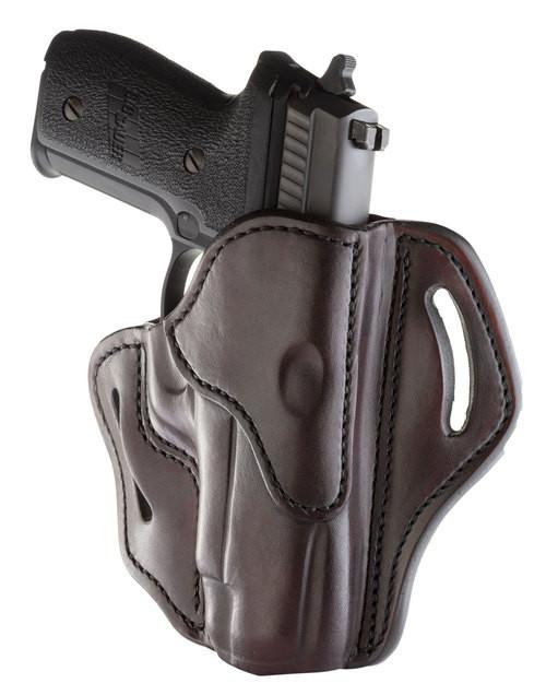 "1791 BH2.3 Black, Leather, Fits 1911 4""& 5"" with Full Rail / Beretta 92FS / CZ 75, P01, P07, P10 / H&K VP9, VP40, P2000 / Glock 17, 20, 21, 22, 31, 34, 35, 40, 41 / Rock Island 1911 5"" TCM, TAC Ultra 5"" / Ruger P95, Ameri, RH"
