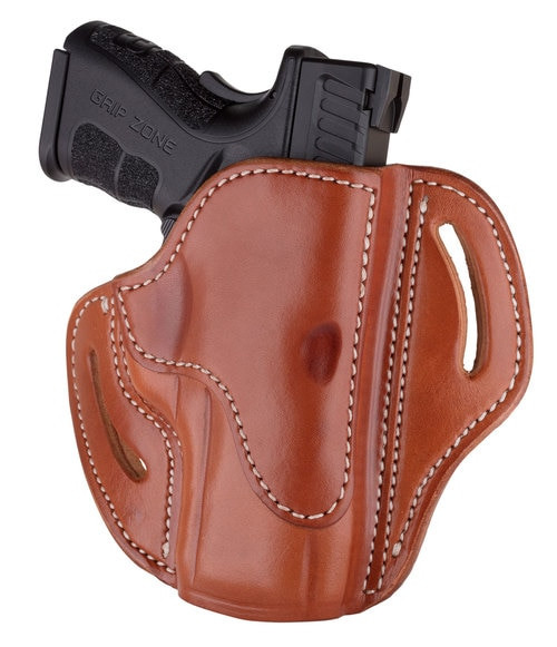 1791 Belt Holster 2.4, Right Hand, Classic Brown Leather, Fits Sig P320c, P229, M11A1, Springfield XDMc