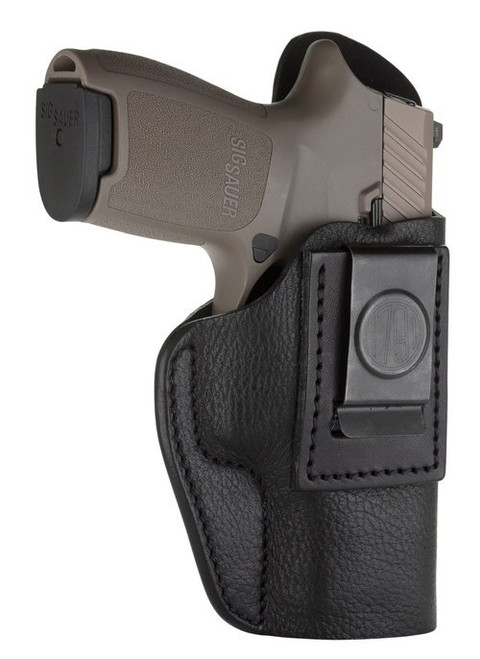 1791 Smooth Concealment Holster, Leather Inside Waistband Holster, Right Hand, Night Sky Black, Fits Sig P320c, M11A1, P229 and Springfield XDMc