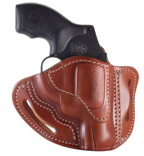 1791, Revolver, Belt Holster, Size 1, Right Hand, Classic Brown, S&W J-Frame, Leather