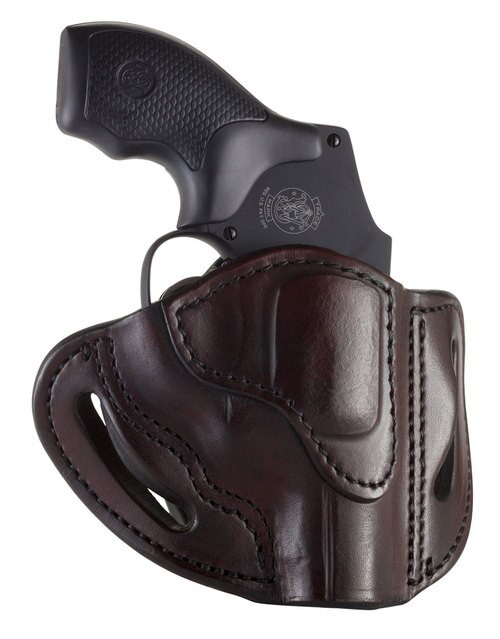 1791, Revolver Belt Holster, Size 1, Right Hand, Signature Brown, Leather