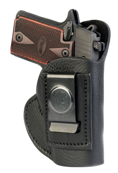 1791 Smooth Concealment Holster, Leather Inside Waistband Holster, Right Hand, Night Sky BlacK, Fits LCP & S&W Bodyguard, Size 1