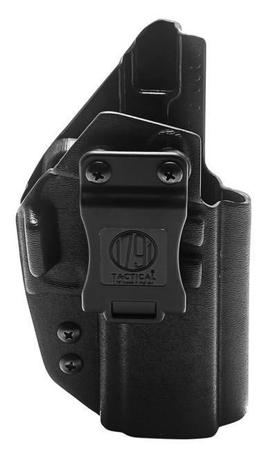 1791 Tactical Kydex, Inside Waistband Holster, Right Hand, Black, Fits Sig M17, Kydex