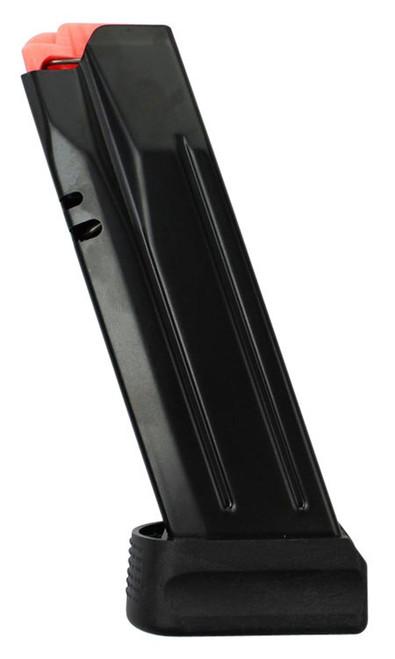 CZ P-10 Compact Magazine 9mm, Steel Black, 17rd