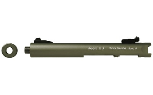 "Tactical Solutions Pac-Lite Ruger Mark I,II,III, 4.5"" Matte OD Barrel 22LR"