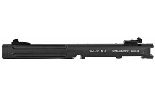 "Tactical Solutions Pac-Lite Ruger Mark IV, 6"" Fluted Matte Black Barrel 22LR"