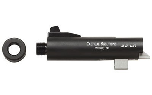 "Tactical Solutions Trail-Lite Browning Buck Mark, 4"" Matte Black Barrel 22LR"