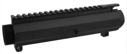 TacFire Low Profile Stripped Upper Receiver 308 Win/7.62mm 7075-T6 Aluminum Black Hardcoat Anodized