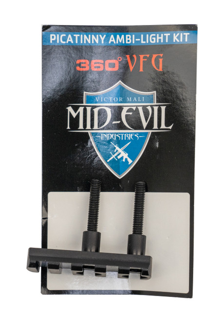 Mid-Evil Picatinny Light Kit, 6061 Aluminum, Black