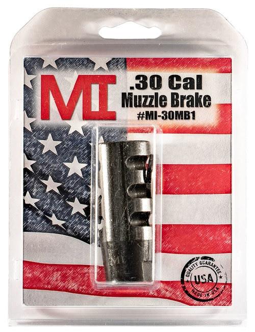Midwest Muzzle Brake, 30 Caliber, 5/8X24 Thread, Phosphate Finish,ludes Crush Washer
