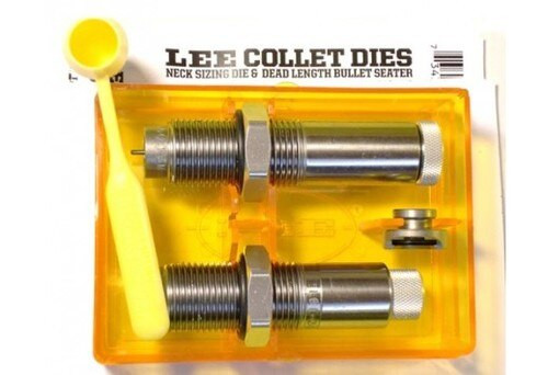 Lee 2-Die Set .338 Lapua Magnum Collet Neck Sizing/Bullet Seating Die