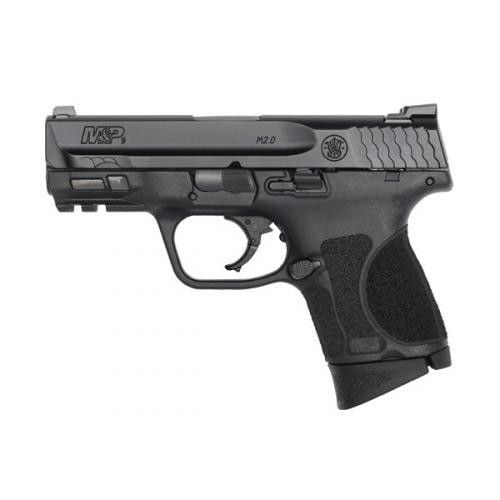 "Smith & Wesson M&P M2.0 Subcompact 9mm, 3.6"" Barrel, No Thumb Safety, Armornite, 12rd"