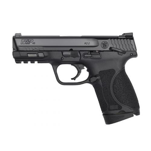 "Smith & Wesson M&P M2.0 Subcompact .45 ACP, 3.6"" Barrel, Thumb Safety, Armornite, 8rd"