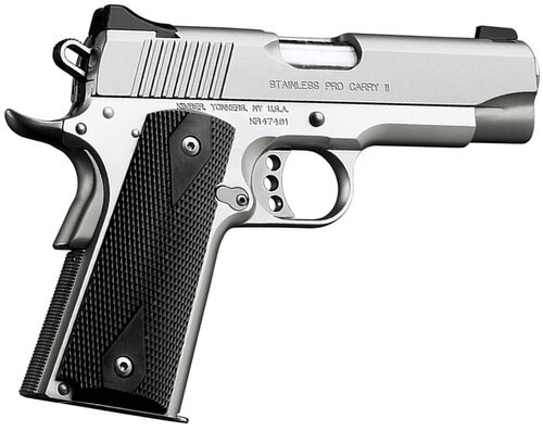 "Kimber Stainless Pro Carry II, 1911 45ACP, 4"", 7rd, CA Approved"