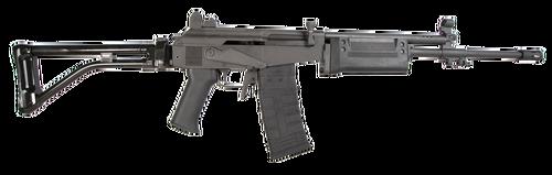 "American Tactical, GALEO, 223 Rem/5.56mm, 18"" Barrel, Black, Polymer Furniture, Folding Stock, 30Rd, 1 Magazine"