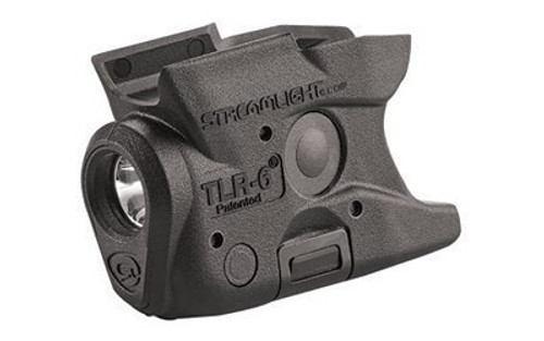 Streamlight TLR-6 Weapon Light for S&W M&P Shield White LED 100 Lumens 1/3N Lithium Battery Black Polymer No Laser