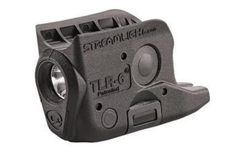 Streamlight TLR-6 Weapon Light fits Glock 42/43 White LED 100 Lumens 1/3N Lithium Battery Black Polymer No Laser