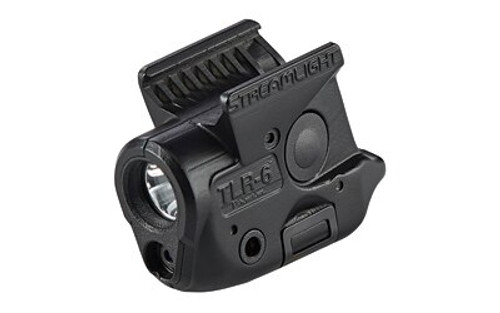Streamlight TLR-6 Weapon Light for Sig P365 White LED 100 Lumens 1/3N Lithium Battery Black Polymer