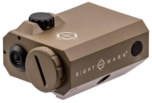 Sightmark LoPro Mini Laser Sight Green Laser Picatinny Flat Dark Earth
