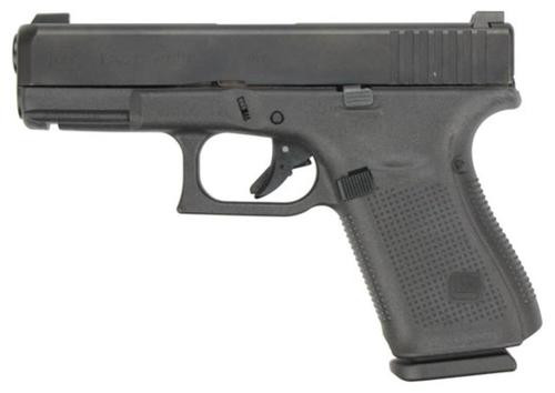 "Glock G19 Gen5, 9mm, 4.01"" Barrel, Glock Night Sights, Modular Backstrap, 15rd"