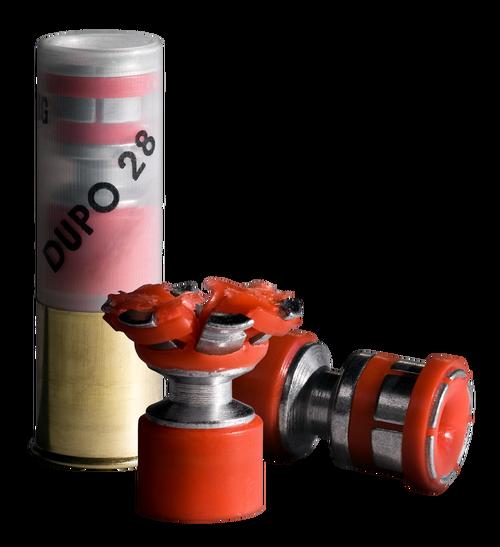 """DDupleks Broadhead Dupo 28 12 Ga, 2.75"""" Slug, 1oz, 5rd Box"""